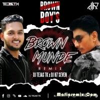 Brown Munde - Remix - DJ Tejas TK X DJ H7 Seven